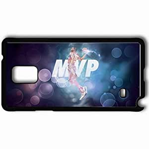 Personalized Samsung Note 4 Cell phone Case/Cover Skin 14927 thunder wp 35 sm Black