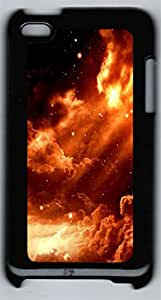 iPod 4Case Clouds And Stars PC Custom iPod 4Case Cover Black