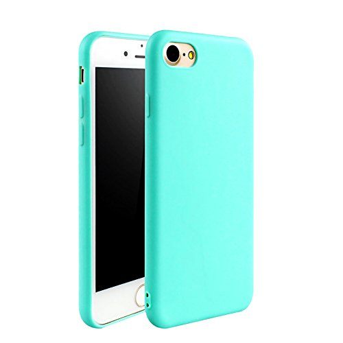 iBarbe iPhone 7 Case iPhone 8 (4.7 inch) Case,TPU protective bumper cover cases with ultra Slim & Rugged Fit Shock silicone Phone Case protector for girls men and women For iPhone 7/8-skyblue