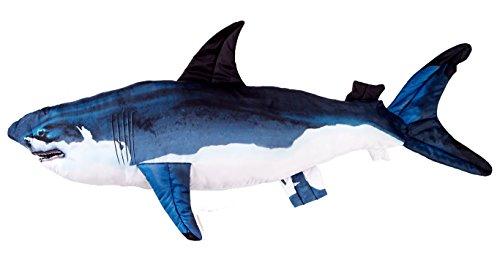 Pillows Giant Fish (BPS Huge Stuffed Shark Fish - Giant Pillow - Over 4 ft Long)