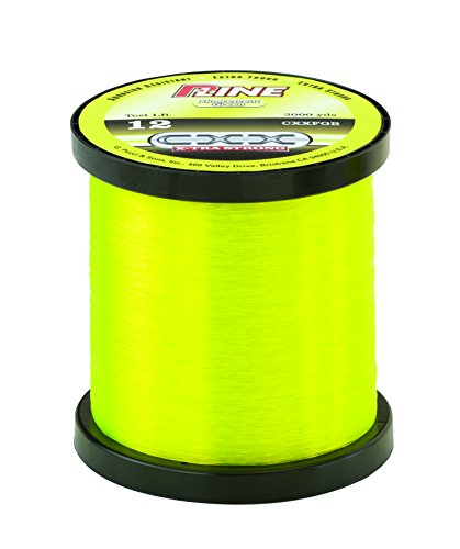 P-Line CXX-Xtra Strong Bulk Fishing Spool (3000-Yard, 10-Pound, Fluorescent Green)