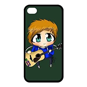 Customize Famous Singer Ed Sheeran Back Cover Case for iphone 4 4S Protect Your Phone