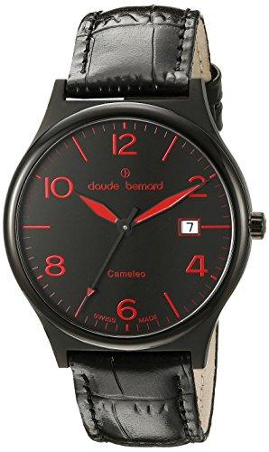 Claude Bernard Women's 70173 37N NRO Dress Code Analog Display Swiss Quartz Black Watch