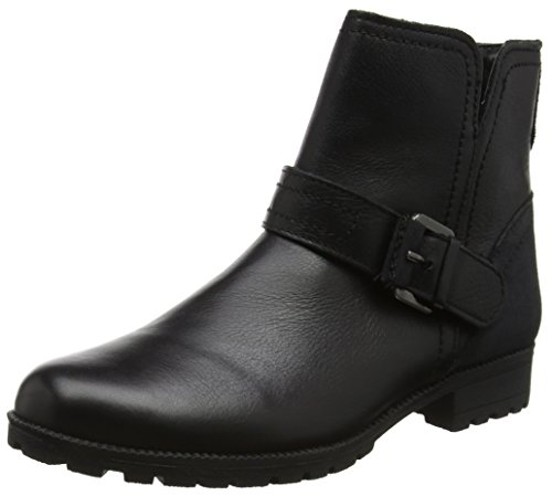 Hotter Lotty - Botas estilo motero Mujer Black (Black)