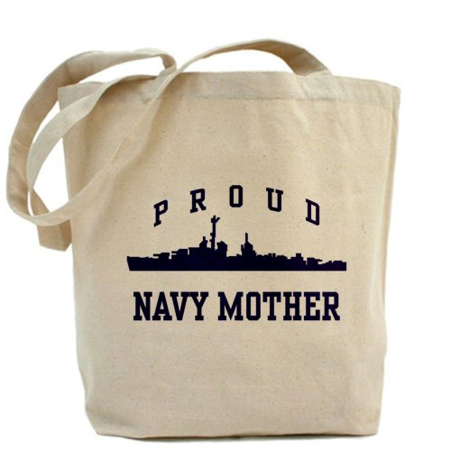 Tote Khaki Tela Medium Mother Navy Proud Cafepress q6PURR