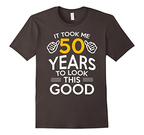 Mens 50th Birthday Gift, Took Me 50 Years - 50 Year Old T-Shirt 2XL Asphalt 50 Year Old T-shirt