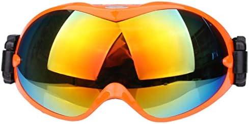 スキーメガネ、球形二層防曇屋外スポーツ用品スノーゴーグル登山用フロントガラスコーラカード近視