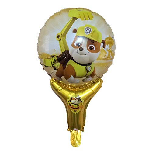 Best Quality - Ballons & Accessories - 30pcs Paw Patrol Figures Dog Party foil Balloons Kids Birthday Party Decorations Hand Stick Balloon Chase Marshall globos Toys - by Osaro Shop -