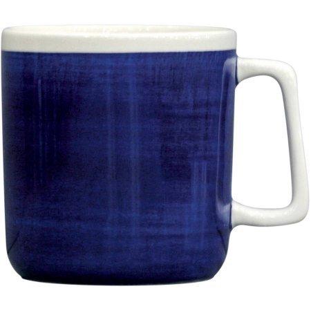 Indigo Swirl Mugs, Blue, Set of - Washington 450 St