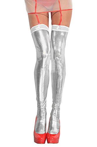 Wetlook Stockings of MeSeduce White