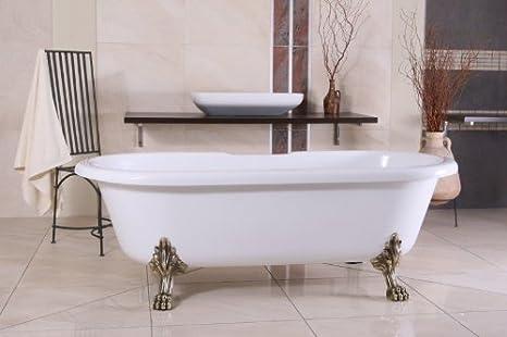 Vasca Da Bagno Litri Acqua : Staccata di lusso bagno nouveau milano bianco argento barocco
