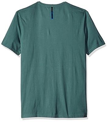 Calvin Klein Jeans Men's Ck Logo Mist Crew Neck T-Shirt