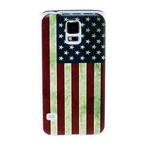 WQQ Teléfono Móvil Samsung - Cobertor Posterior - Gráfico/Diseño Especial/Bandera Nacional - para Samsung S5 i9600 ( Multi-color , Plástico )