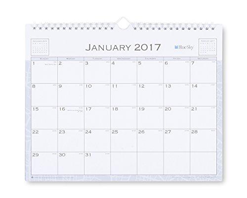 Blue Sky Passages 11 x 8.75 Monthly Wall Calendar, 2017