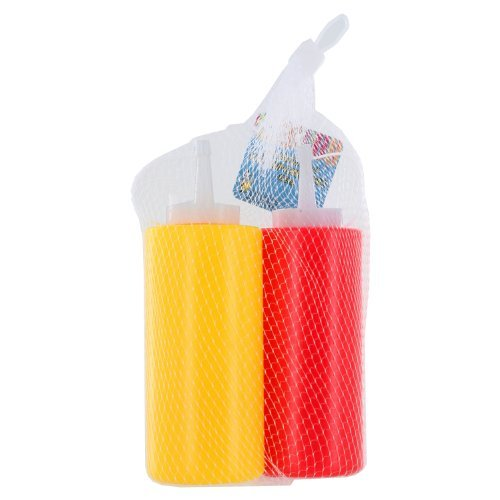Plastic 11.5 oz Ketchup & Mustard 7 in Dispensers Bottles, Pack of 36