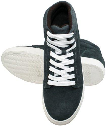 Calden K107202-3 Inches Højere - Højde Stigende Elevator Sko (grå Lace-up Sneakers) 5BkZ2lh