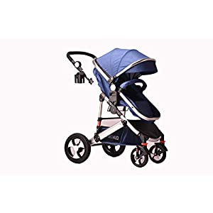 Pram Travel System 2 in 1 Combi Stroller Buggy Baby Child Pushchair