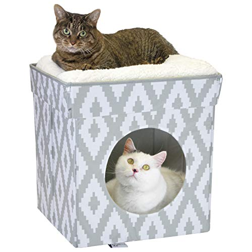 Kitty City Large Cat Bed, Stackable Cat Cube
