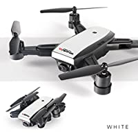QingFan Quadcopter Drone with HD Camera RTF 4 Channel 2.4GHz 6-Gyro with Altitude Hold Function,Headless Mode and One Key Return (white)
