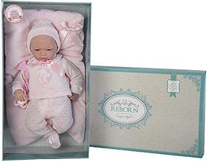 Amazon.es: Guca, Muñeca baby reborn andrea polaina jersey y cojin ...