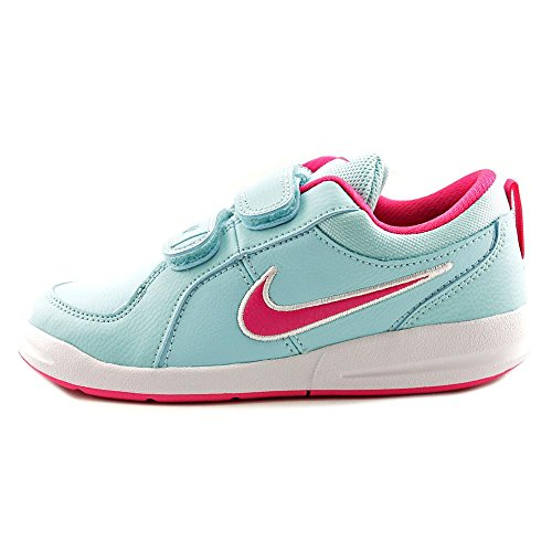 Nike Pico 4 (Psv) - Zapatillas Niñas Azul / Rosa / Blanco (Copa / Vivid Pink-White)