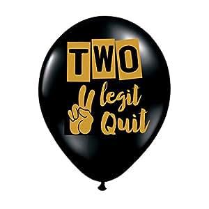 Amazon.com: Dos Legit para dejar de globos – juego de 3 ...
