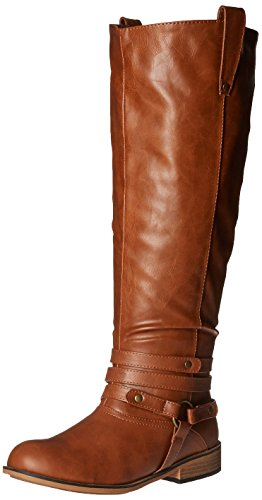 Brinley Women's Riding Boot Chestnut Bailey Co Calf Xwc Wide Extra rwwIOq