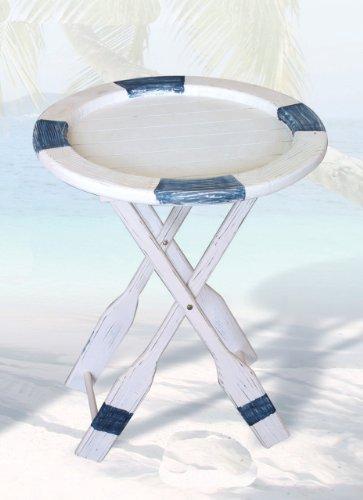 Nautical Life Ring Table]()