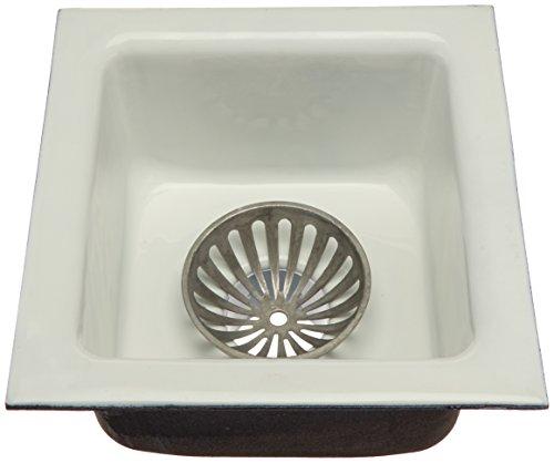 IPS 60401 12'' x 12'' x 6'' Floor Sink No Hub by IPS