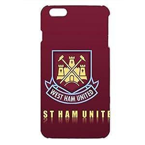 Unique Design FC Stoke City FC Team Logo Phone Case Cover For Iphone 6Plus 3D Plastic Phone Case