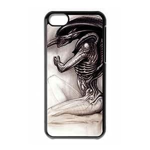 ALIEN Xenomorph iPhone 5c Cell Phone Case Black 8You282755