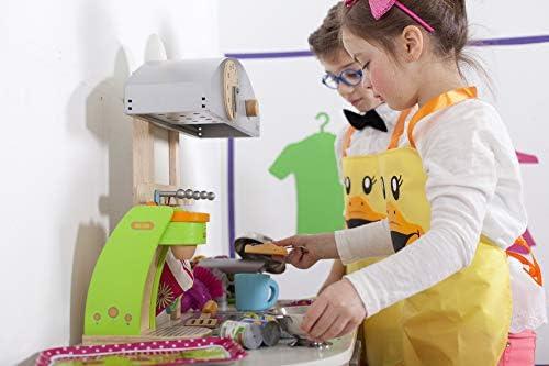 Vigar Duck kids Delantal, 90% Polyester 10% PU, Amarillo: Amazon ...
