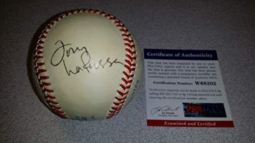 Tony Larussa Athletics Authentic Hand Autographed Signed Baseball PSA/DNA Dna Coa
