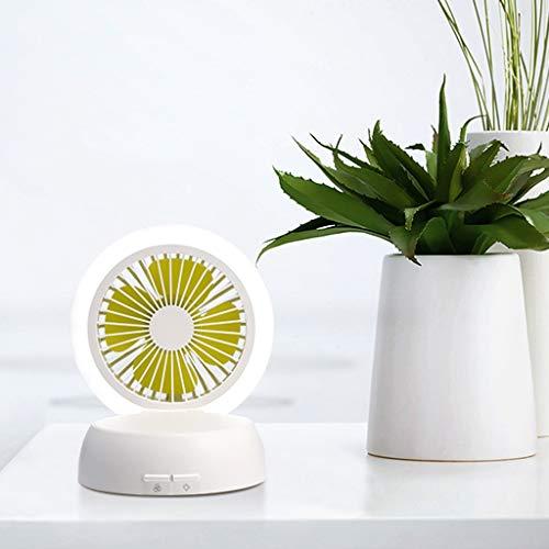 - Mushroom Lampstand Fan LED Supplementary Lamp Fan Convenient Desktop Lamp Fan Handheld Personal Portable Desk for Home Office Dorm