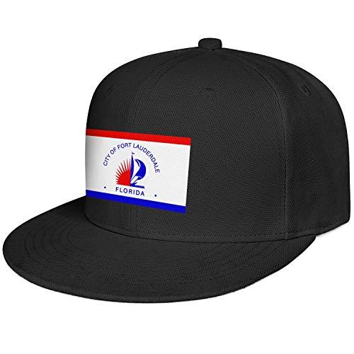 Fashion Flat Cap Man Flag of Fort Lauderdale