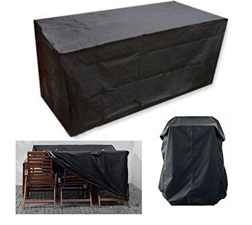 MD Group Furniture Cover 124inch Polyester Waterproof Outdoor Garden Patio Sofa Protection by MD Group