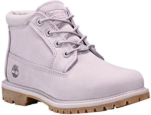 Timberland Womens Nellie Chukka Double Waterproof Boot, Gull Grey Waterbuck Monochromatic, Size 7.5