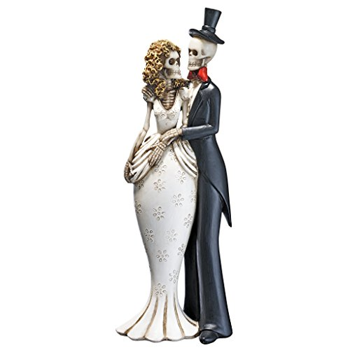 Design Toscano Day of the Dead Skeleton Bride and Groom Statue]()