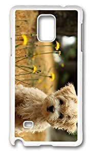 Adorable Cute Maltese Dog Hard Case Protective Shell Cell Phone For Case Iphone 5/5S Cover - PC White