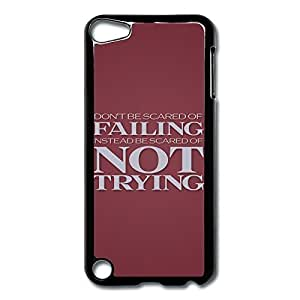 Diy For SamSung Galaxy S5 Case Cover Be Scared Trying Hard Back Cover Cases Desgined By RRG2G