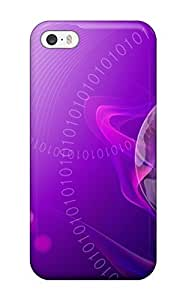 Hot Design Premium DFFDdil6279xJsRA Tpu Case Cover Iphone 5/5s Protection Case(purple World)