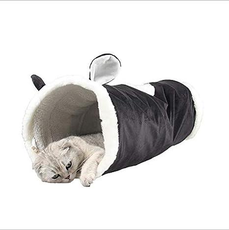 Túnel para Gatos más Grande Juguete para Gatos Plegable de 2 ...