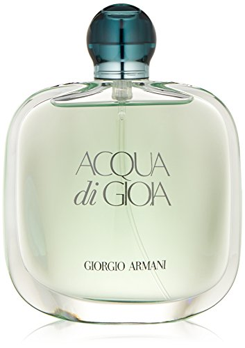 Acqua Di Gioia by Giorgio Armani | Eau de Parfum Spray | Fragrance for Women | Fresh Scent with Key Notes of Cedar, Jasmine, and Lemon | 100 mL / 3.4 fl oz ()