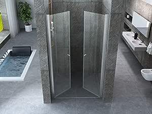 Soporte de ducha Saloon para ducha de nicho, apertura interior y ...