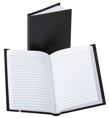 Boorum & Pease 380812 Pocket Size Bound Memo Book, Ruled, 5 1/4 x 3 1/4, White, 72 Sheets