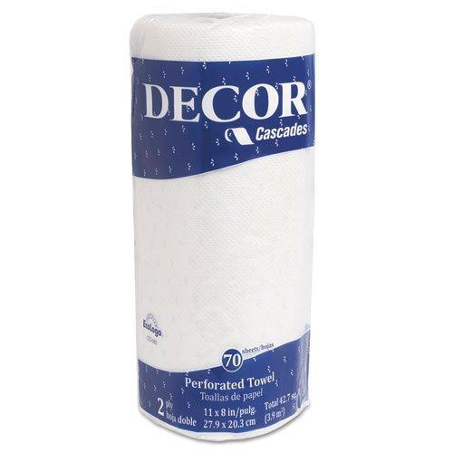 Cascadas decoración toalla de perforado, 2 capas, 8 x 11, blanco, 70/rollo: Amazon.es: Hogar