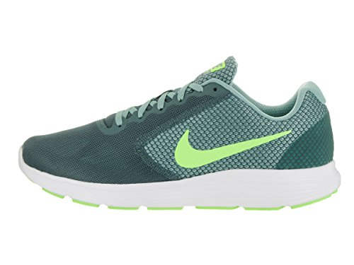 Nike Revolution 3, Chaussure de Sport Homme Verde (Hasta/Ghost Green/Cannon/White)