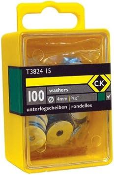C.K Washers 3//16 Box Of 100