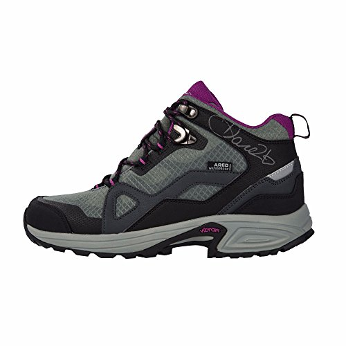 Dare 2b Womens/Ladies Cohesion Lightweight Mid Hiking Boots Black/Camellia JeZpO3
