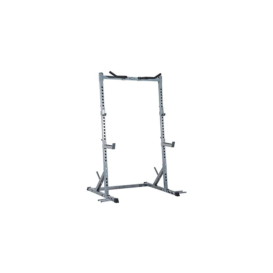 Soozier Ultimate Strength Training Squat Rack Silver